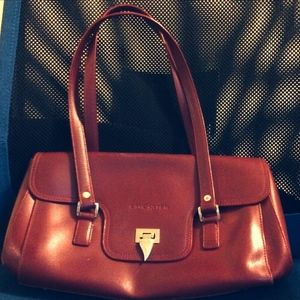 Lancaster Paris Bags - Authentic Lancaster Leather Shoulder Bag